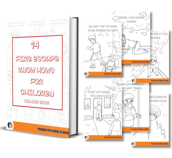 Fire Escape Colouring eBook
