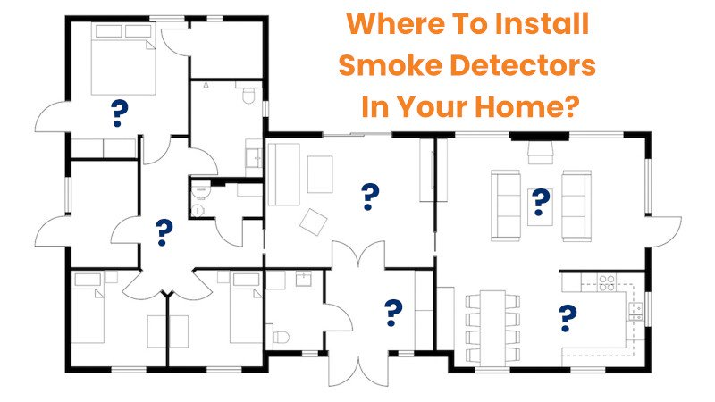 Where To Install Smoke Detectors In Your Home?